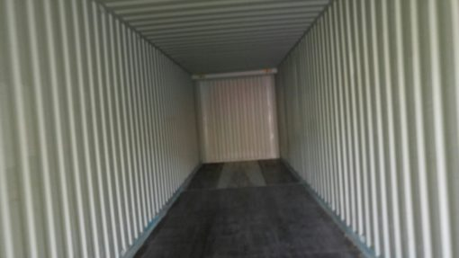 container 45' High Cube Pallet Wide segunda mano interior