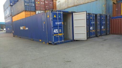 container 45' High Cube Pallet Wide segunda mano exterior