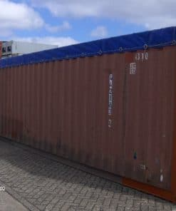container 40' Open Top modficado, exterior