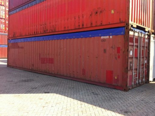 container 40' Open Top modficado, stack
