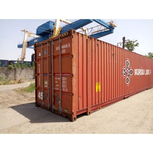 45' HC container, side
