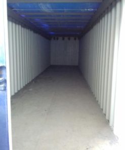 container 40 HC Open Top modficado, interior